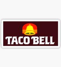 TACO BELL 80's Sticker
