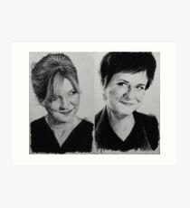 Bernie & Serena Art Print
