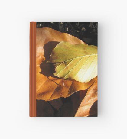 Russet Autumn Leaves - Close-up Notizbuch