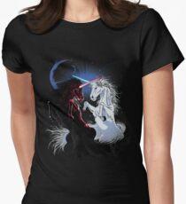 Unicorn Wars Womens Fitted T-Shirt