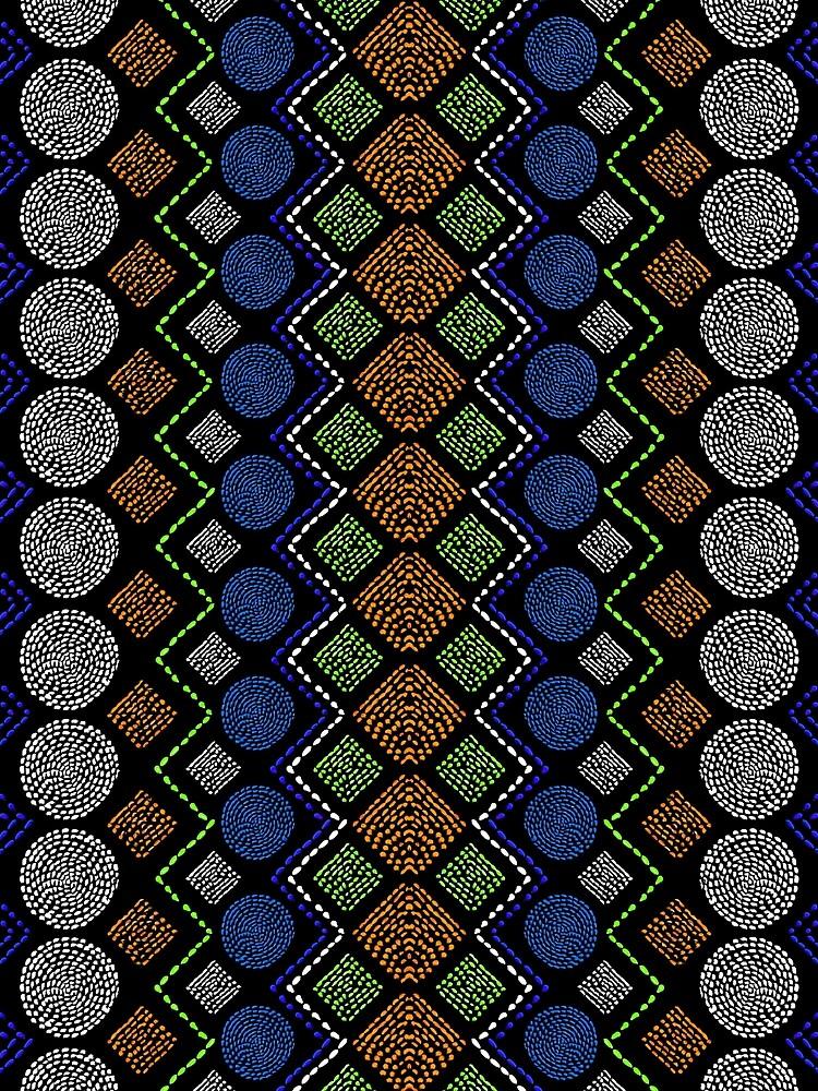 Ethnic African Motif 2 by vkdezine