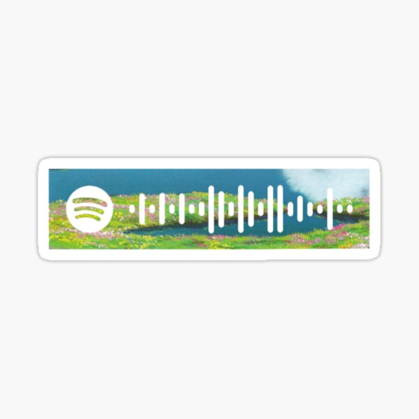 Merry Go Round of Life by Joe Hisaishi Spotify Song Code Sticker