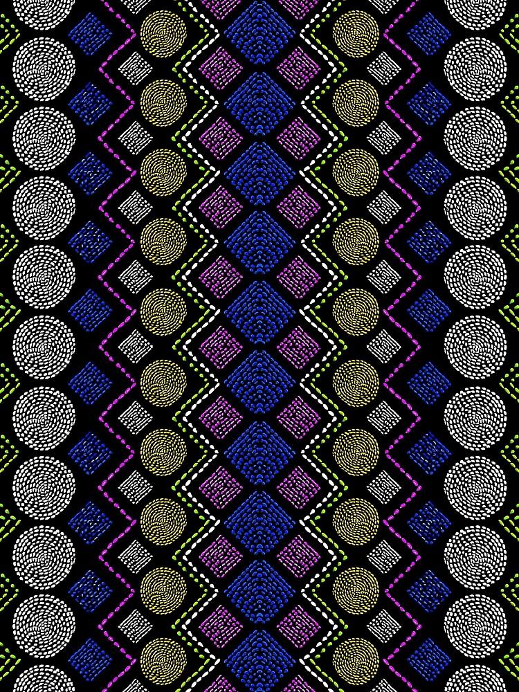 Ethnic African Motif 3 by vkdezine