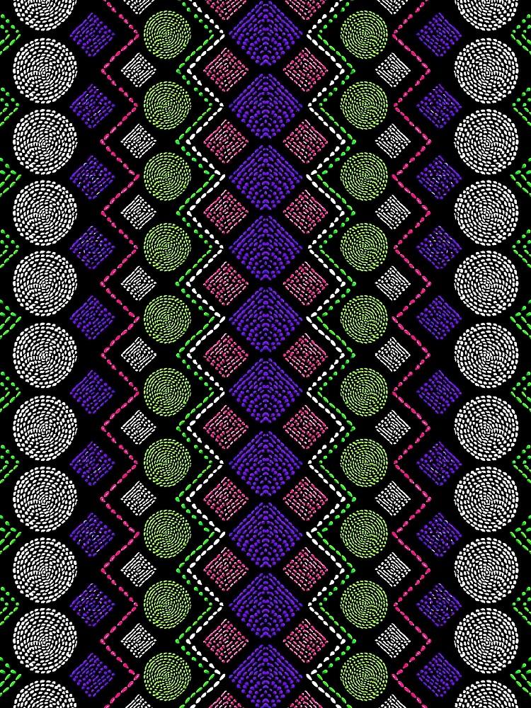 Ethnic African Motif 5 by vkdezine