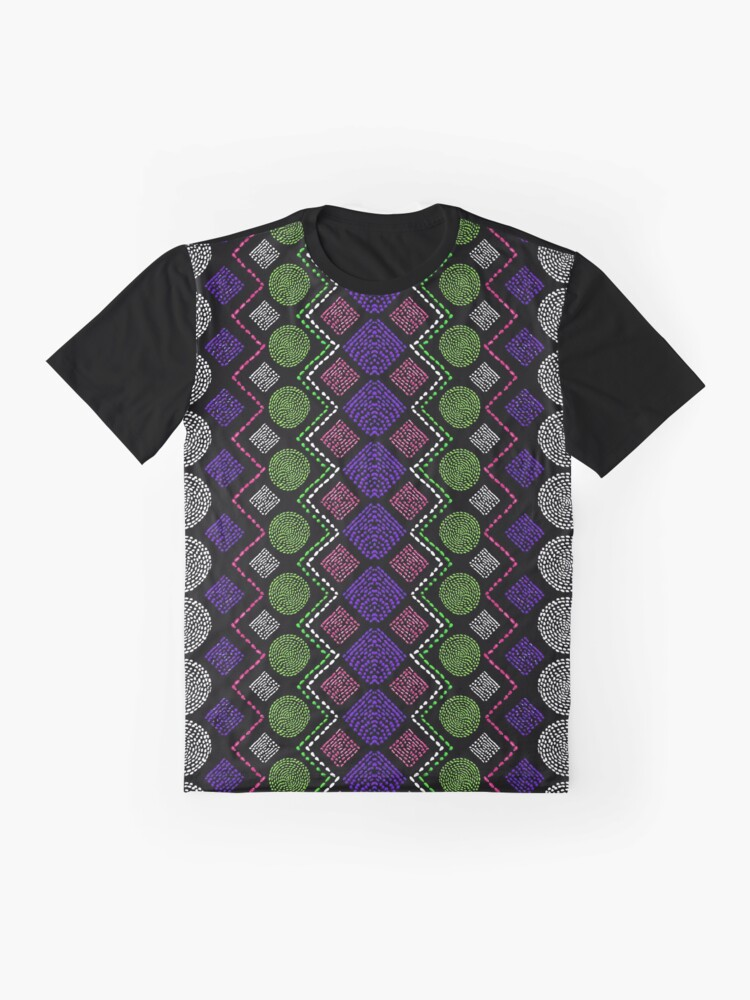 Alternate view of Ethnic African Motif 5 Graphic T-Shirt