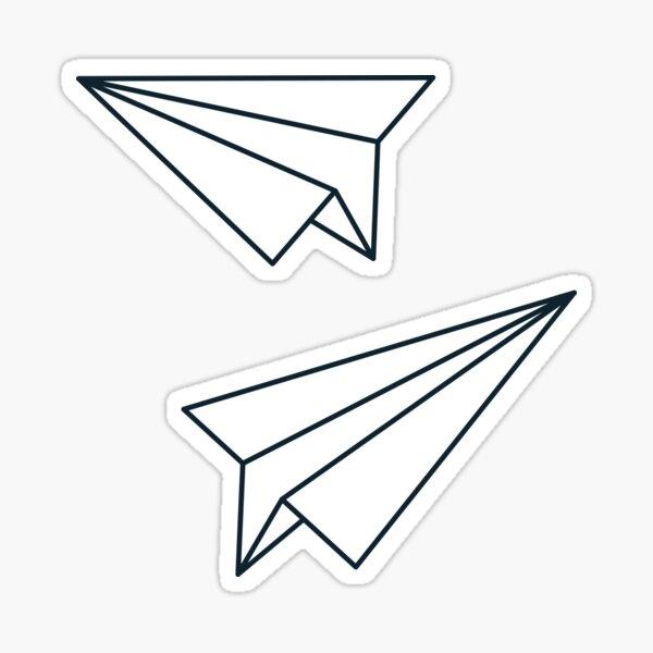 Paper Airplanes Sticker