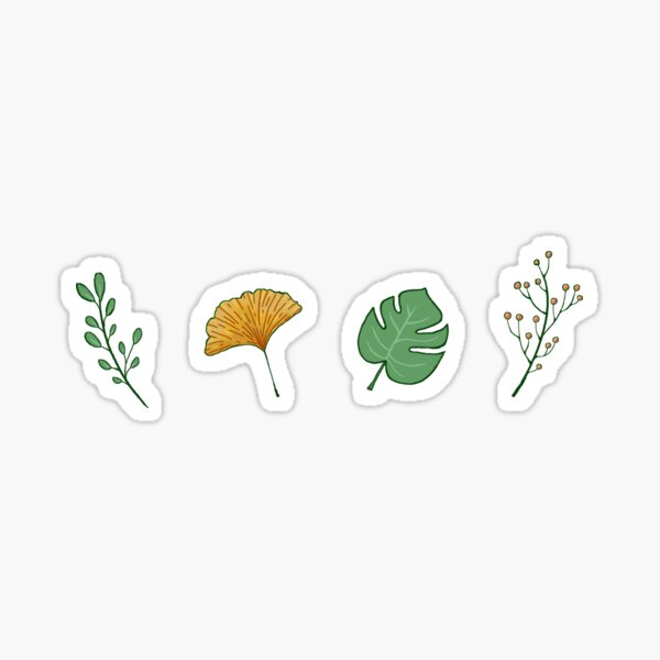 Leaves and Branches Sticker