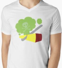 Cutting The Cheese Men's V-Neck T-Shirt