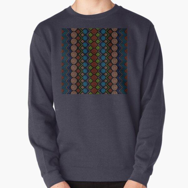 Ethnic African Motif 6 Pullover Sweatshirt