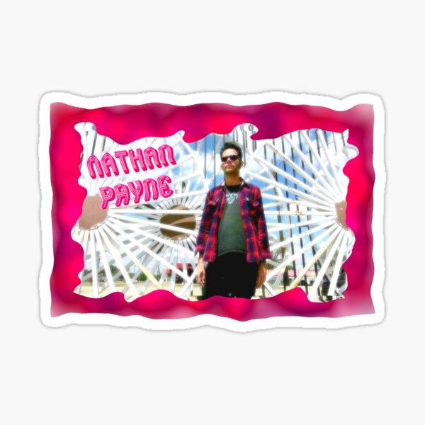 Psychedelic Gates of Eternity Sticker