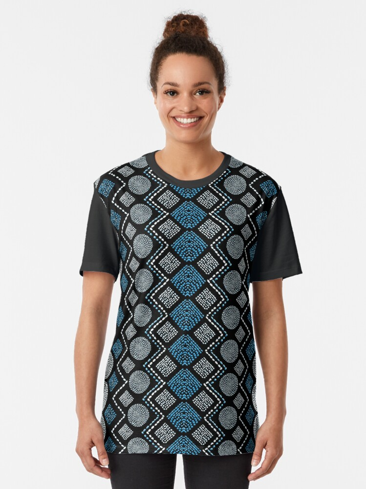 Alternate view of Ethnic African Motif 7 Graphic T-Shirt