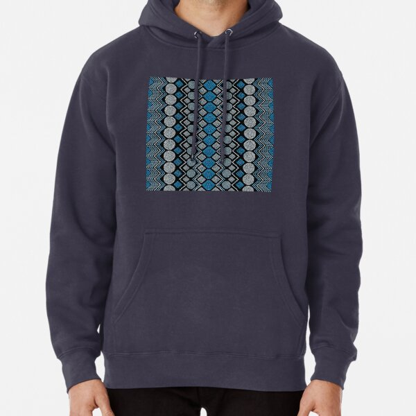 Ethnic African Motif 7 Pullover Hoodie