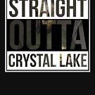 Geradeaus Crystal Lake von kjanedesigns