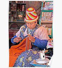 Knit Art Poster