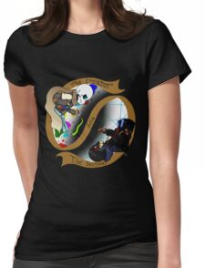 The Creator and The Destroyer Womens Fitted T-Shirt