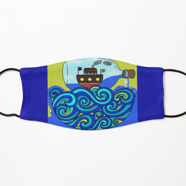 Boat in a Bottle Kids Mask