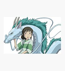 Spirited Away, Chihiro and Haku Photographic Print