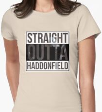 Straight Outta Haddonfield Womens Fitted T-Shirt
