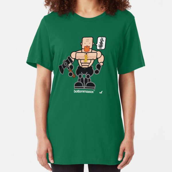AFR Superheroes #02 - Bottommaxxx Slim Fit T-Shirt
