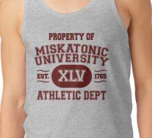 Property of Miskatonic University Athletic Dept Tank Top