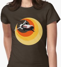 Turbo Boost Women's Fitted T-Shirt
