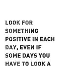 Look For Something Positive by YingDude
