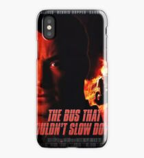 The Bus That Couldn't Slow Down iPhone Case/Skin