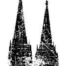 Kölner Dom Vintage von theshirtshops