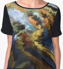 From The Painting Easel #11 Women's Chiffon Top