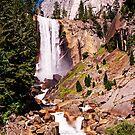 Vernal Falls along the Mist Trail, Yosemite Valley, California, USA by TonyCrehan