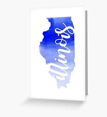 Illinois Greeting Card