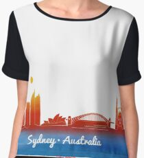 iconic Sydney Australia Women's Chiffon Top