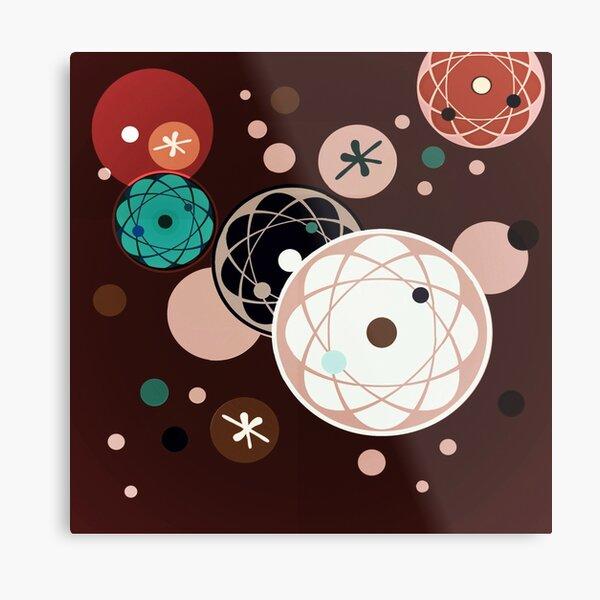 Atomic Chocolate Metal Print