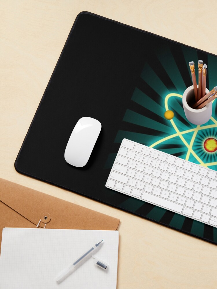 Alternate view of Atom Mouse Pad