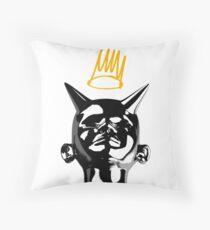 J Cole Throw Pillow