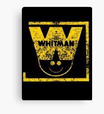Whitman Comics Retro Logo Canvas Print