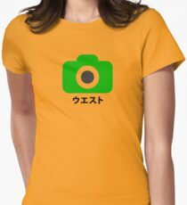Style Japan Camera T-Shirt Womens Fitted T-Shirt