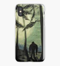 Smokey Mountain Sasquatch iPhone Case/Skin