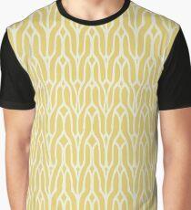 Yellow decorative knit seamless pattern Graphic T-Shirt