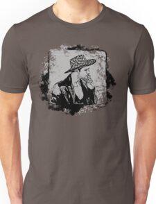 Cowboy Smoking Hat - Cool Grunge Vintage T-Shirt