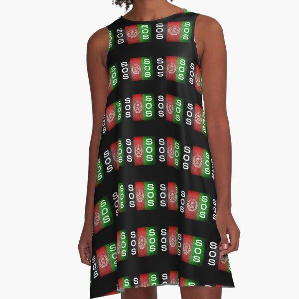 Help Afghanistan, Free Afghanistan A-Line Dress