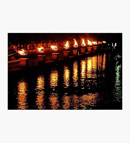 Reflections of Fire Photographic Print