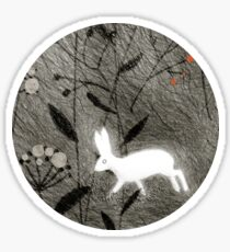 Hare Sticker