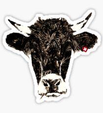 swiss-cow Sticker