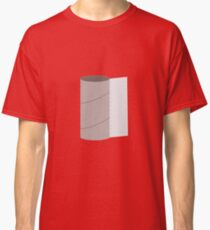 Empty Toilet paper roll Classic T-Shirt