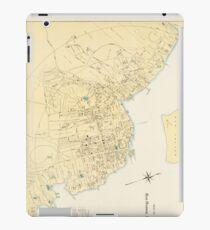 Vintage Map of Bar Harbor Maine (1897) iPad Case/Skin