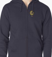Irish Defence Forces Zipped Hoodie