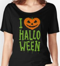Love Halloween Women's Relaxed Fit T-Shirt
