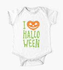 Love Halloween Kids Clothes