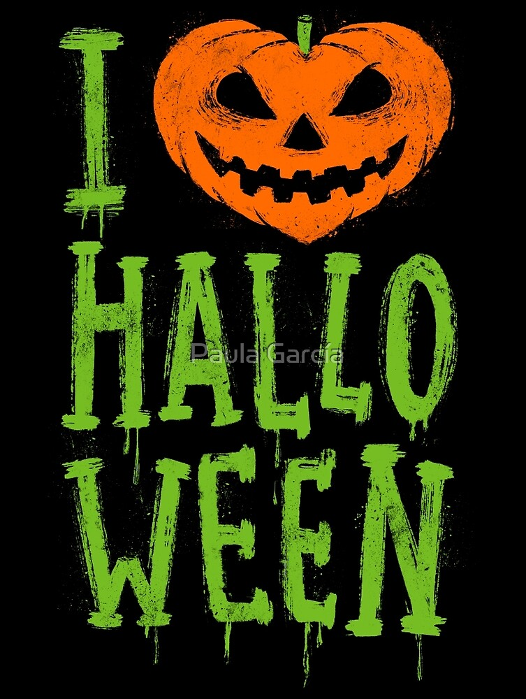 «Love Halloween» de Paula García